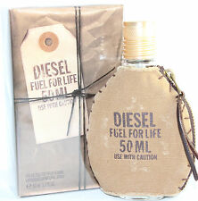 Diesel Fuel For Life Men 1.7/1.6 oz Eau de Toilette Spray  New In Box
