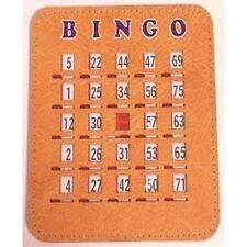 Deluxe Bingo Shutter Card (50 Count) Brand NEW!