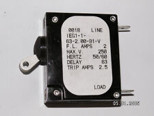10 A 420810-1  2 PACK Sea-Dog Line Thermal Circuit Breaker