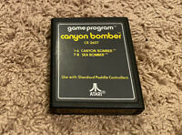 Canyon Bomber CX-2607 (Atari 2600 Game)  Cart Only, Used.