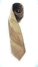 """Marciani Couture Mens Microfiber Neck Tie Olive Green Length 63.5"""" Width 3.75"""""""