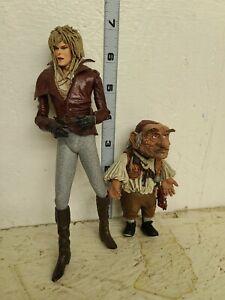 Neca Labyrinth Jareth and Hoggle Figure set