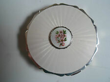 Superb Vintage Stratton Compact + Enamelled Decoration to Lid  Made in England