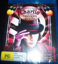 Charlie And The Chocolate Factory (Johnny Depp) (Aust Region B) Bluray  – New