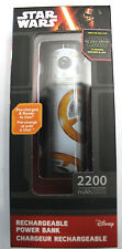 Disney Star Wars BB8 Droid Rechargeable Power Bank 2200mAh