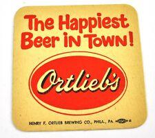 Ortlieb's Beer Bier Bierdeckel Untersetzer Coaster USA sous-bock