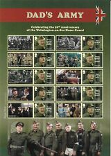 2018 Gb.- Full Smiler Sheet - Dads Army - 50th Anniversary - Mint & Never Hinged