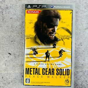 Metal Gears Solid Playstation Portable PSP No Manual Japan Import