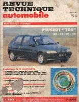RTA revue technique l'expert automobile n° 539 PEUGEOT 106 XN XR XT XSI