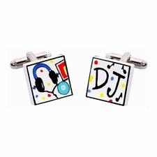 DJ Cufflinks by Sonia Spencer, gift boxed. Music, Decks, RRP £20