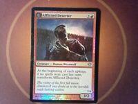 Foil Afflicted Deserter - Dark Ascension - Magic the Gathering Mtg red