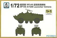 S-Model 1/72 9P148 Anti Tank Guided Missile Launcher Vehicle (2 kits per box)