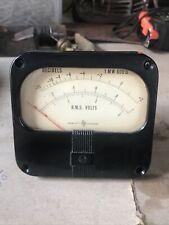 Vintage Hewitt Packard R.M.S. volts meter decibels 1 MW600 Pat.#2.433.165