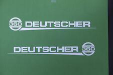 Deutscher 360 Vintage Mower Repro Decals