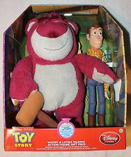 Toy Story Pull String WOODY & LOTSO Talking Figure Gift Set!