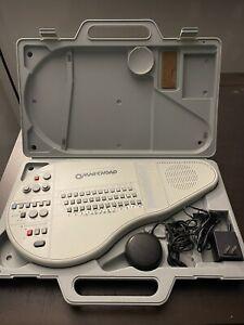 Suzuki Omnichord OM-84 w/ AC Power Adapter, Rare Foot Switch, & Carrying Case