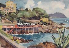 BOGLIASCO: Golfo Paradiso e Portofino   1956 - dis. Frattini