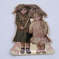 Vintage American Greetings Antique Doll Stand Up Card Bru Jne Bebe Schmitt & Fil