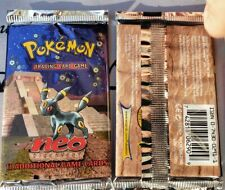 Unweighed FACTORY SEALED Pokemon Unlimited Neo Discovery Booster Pack, BGS/PSA??