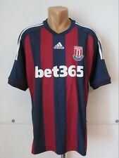 Stoke City 2012/2013 Away Football Shirt Soccer Jersey Adidas 150 Years Size Xl