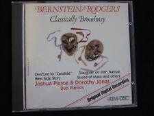 Bernstein, Rodgers: Classically Broadway-Pierce, Jonas-CD Sanyo Japon
