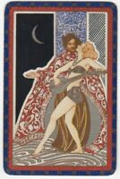 Playing Cards 1 Single Card Old Named PERSIA Moonlight Couple Man Girl Lady Art