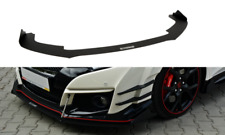 FRONT RACING SPLITTER VER.2 (WITH WINGS) HONDA CIVIC MK9 TYPE R (FK2) (2015-UP)