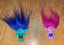 2 DreamWorks Trolls Surprise Mini Figure Series 3 - Branch & Boy Pink - NEW!!