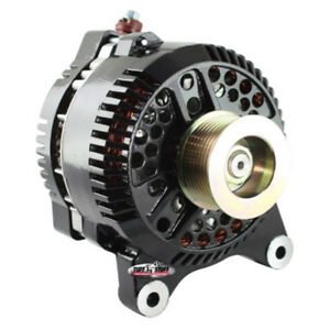 Tuff Stuff Alternator 7791C; 3G 200 Amp Black OE-Wire w/ 8-Groove Pulley