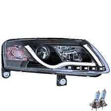 Xenon Scheinwerfer Set für Audi A6 C6 4F 04-08 Tube Lights LED Tagfahrlicht R87