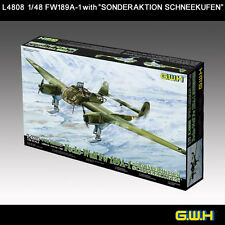 "Great Wall Hobby L4808 1/48 Focke-Wulf Fw189A-1 with ""Sonderaktion Schneekufen"""