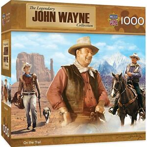 John Wayne On The Trail  1000 piece jigsaw puzzle  680mm x 490mm   (mpc)