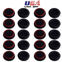 Universal 20pcs Black Thumb Grips Caps for PS4 PS3 Xbox 360 Wii u Controller USA
