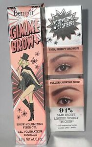 Benefit Cosmetics GimmeBrow+Tinted Volumizing Eyebrow Gel,5 Cool Black-Brown
