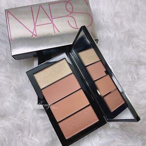 NARS Hot fix blush highlighter palette - 4 shades Limited edition cheek makeup