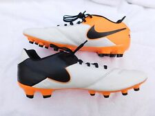 Nike Tiempo Soccer Cleats. New Other. Read. Orange stripe painted Black. 11.5