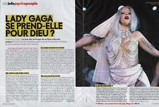 Coupure de presse Clipping 2011 Lady Gaga (2 pages)