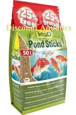 TETRAPOND 50L FISH POND FOOD STICKS TETRA POND KOI GOLDFISH STICK 40L+10LFree