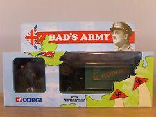 CORGI CLASSICS DAD'S ARMY BEDFORD O SERIES VAN & HODGES FIGURE MODEL 18501 1:50