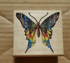 Rubber Stampede Cynthia Hart Majestic Butterfly 311E Rubber Stamp