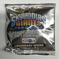 Skylanders Giants Legendary Series - Limited Edition - 5 PIECE BUTTON PACK