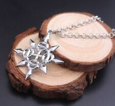 Kingdom Hearts Star Silver Plated Necklace in Gift Bag