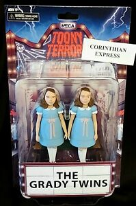 """Neca The Shining - 6"""" scale action figures - Toony Terrors The Grady Twins NEW"""