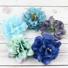 10/100Pc Fake 8cm Carnation Artificial Silk Flower Heads Craft Wedding DIY Decor
