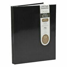 Bulk Buy - 16 x NCL 20 Black Page Refillable Adhesive Photo Album A4 Black