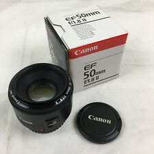 Canon EF 50mm f/1.8 II Lens in Box Used Once Pre-Owned
