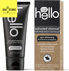 Hello Oral Care Activated Charcoal Teeth Whitening Fluoride Free Toothpaste,US
