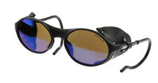 Julbo Sherpa Sunglasses, Black, Leather Shields, Spectron 3 MAR All Purpose Lens
