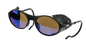 Julbo Sherpa Sunglasses, Black, Leather Shields, Spectron 3 MAR All Purpose Lens