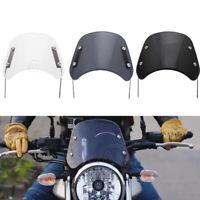 Motorcycle Windshield Wind Deflector Universal for  Honda Yamaha Kawasaki Suzuki